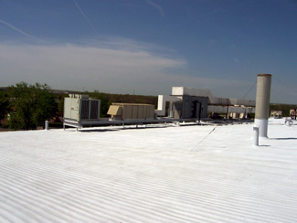 A: Silicone Roof Coating, Which Is The Preferred SPF Coating, Is One Of The  Longest Lasting Roof Coatings Available. It Does Not Chalk, Wash Or  Deteriorate ...